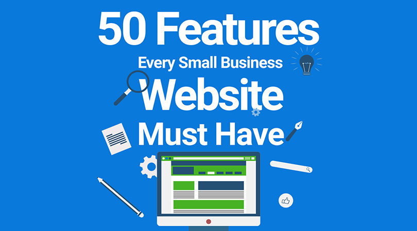 50 features for SMB website cover