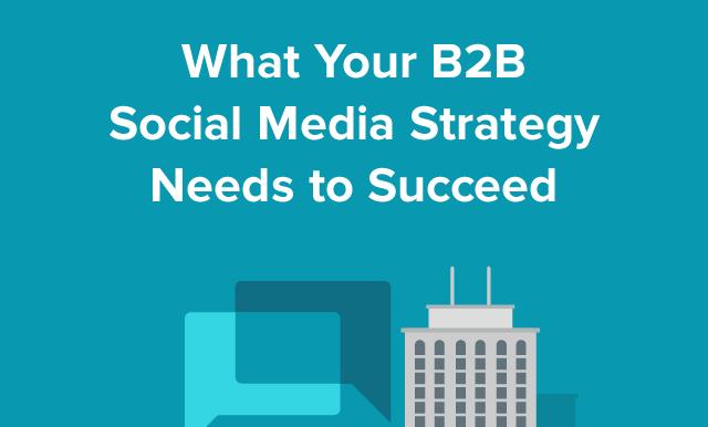 B2B Social Media Strategy Cover