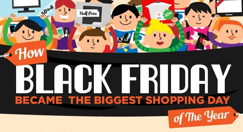 Cover – How Black Friday Became The Biggest Shopping Day of The Year