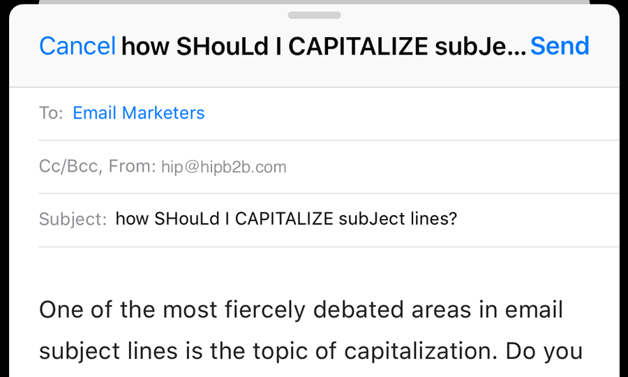 Do You Capitalize Job Titles In A Cover Letter.How Should You Capitalize Your Email Subject Lines Hipblog