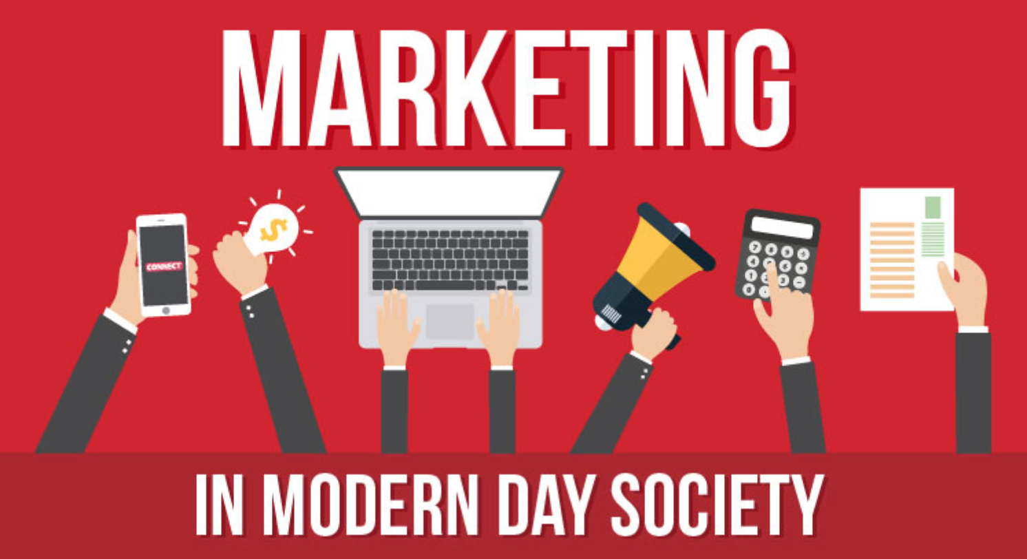 Marketing in Modern Day Society infographic