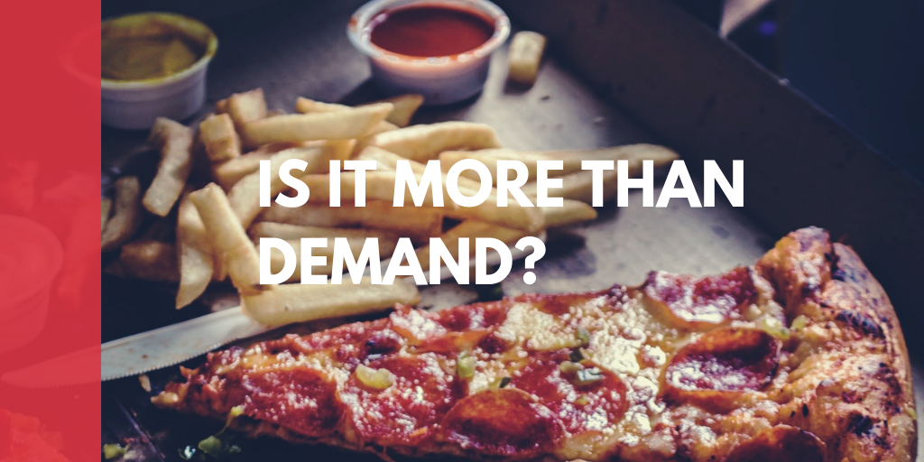Is it more than demand?