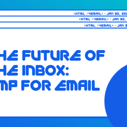 The Future of the Inbox: AMP for Email