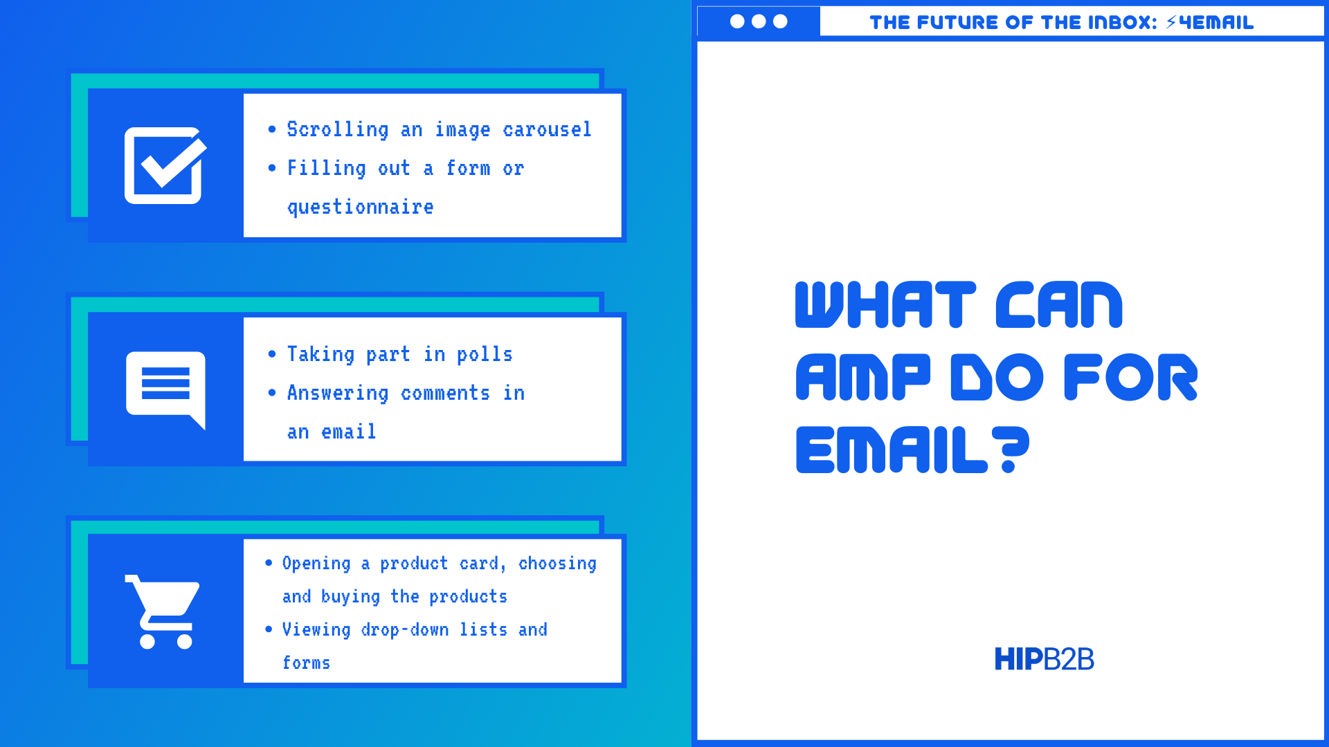 What Can AMP Do For Email?